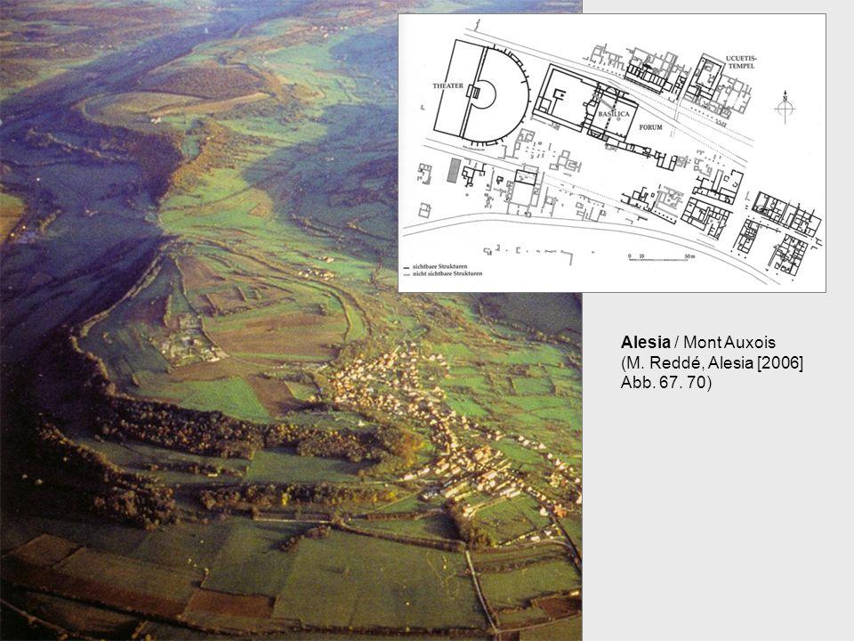 Alesia / Mont Auxois (M. Reddé, Alesia [2006] Abb. 67. 70)